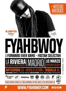 Fyahbwoy & Forward Ever Band - #FyahTour17 - Madrid
