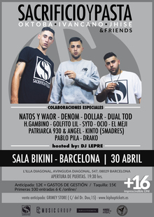 SacrificioyPasta & Friends en Barcelona