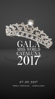 Gala Miss World Cataluña 2017