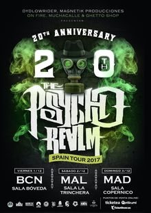THE PSYCHO REALM - Concierto Madrid 20º Aniversario