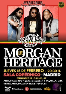 MORGAN HERITAGE EN MADRID