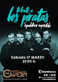 Tributo a Los Piratas - Equilibrio imposible - Madrid