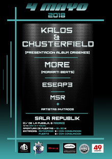 KALOS & CHUSTERFIELD FT MORE + ESEAPE + MSR