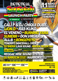 Rototom Launch Party Tenerife