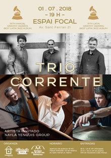 Trio Corrente - 2 Grammy Awards Best Latin Jazz Album