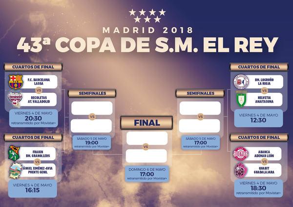 Entradas para Fase Final Copa Rey (abono 4, 5 y 6 mayo) en Madrid en ...