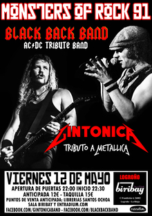 Monsters of Rock 91 en Logroño, Sala Biribay (AC/DC - Metallica)