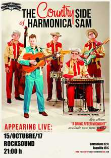 The Country Side Of Harmonica Sam en Barcelona