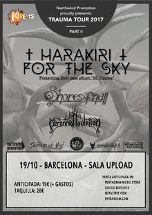 Harakiri For The Sky · Shores Of Null · Perennial Isolation - Barcelona 2017