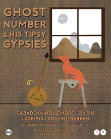 Ghost Number & His Tipsy Gypsies / La Cripta (Donostia)
