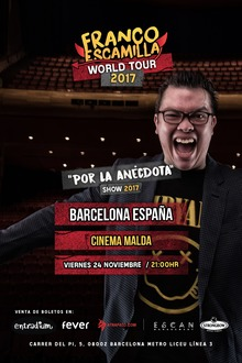 Franco Escamilla World Tour 2017 - Barcelona