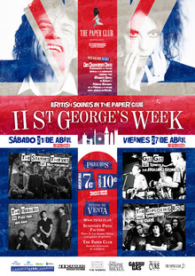 II ST. George's Week. British sounds in The Paper Club