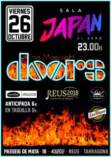 THE MOONLIGHT DOORS  (Tributo The Doors)