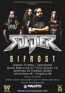 Soldier · Bifrost en Black Bird Club - Santander